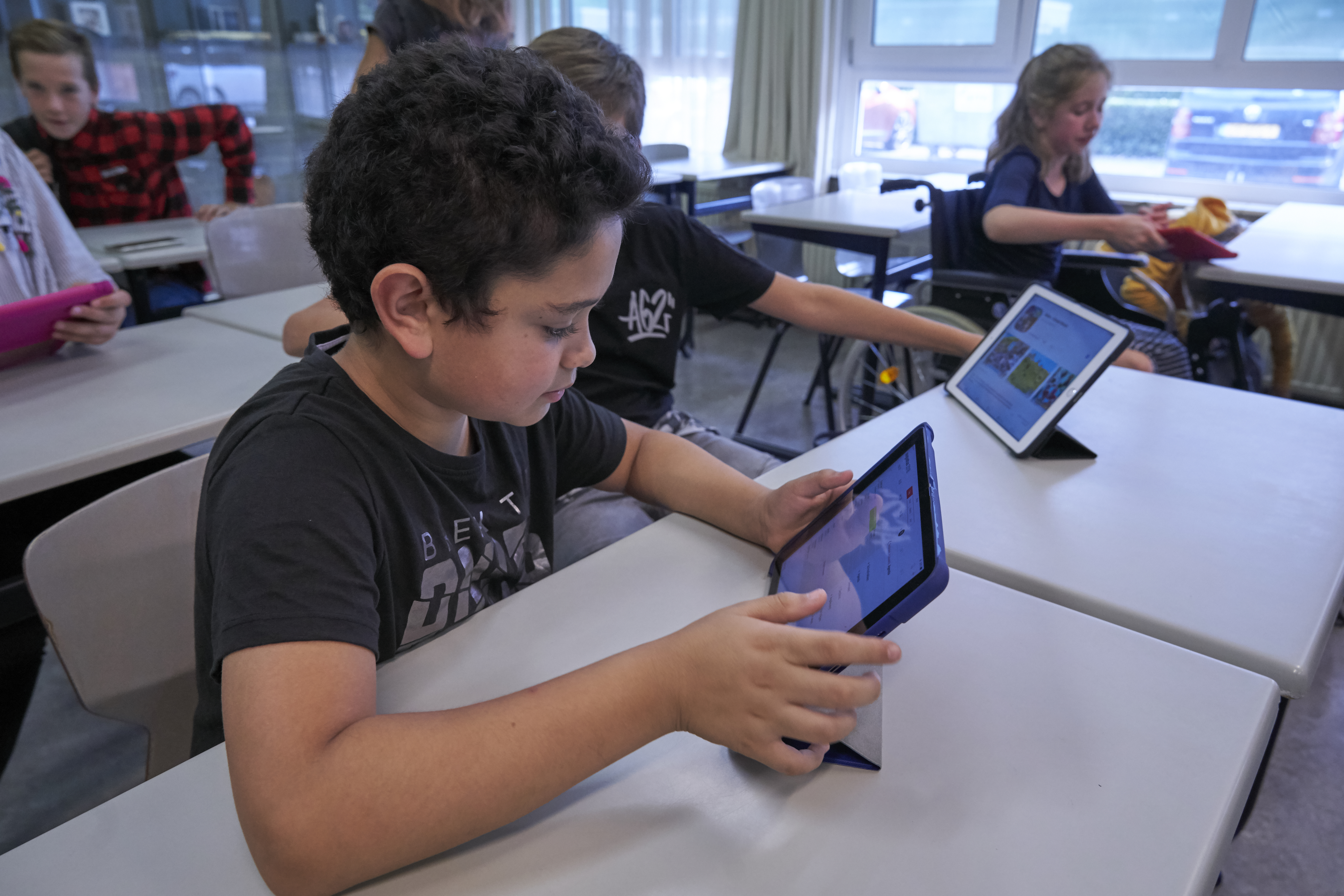 Bright focus Learning klas 1: de Ipad